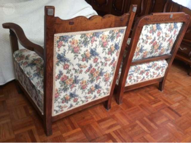 Sillones de madera antiguos antiguo sillon de campo criollo madera monte cuero colonial silla - Sillones antiguos restaurados ...