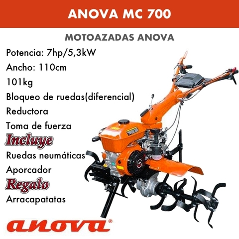MOTOAZADAS GASOLINA ANOVA MC700