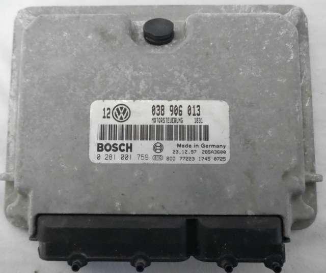 CENTRALITA AUDI VW SEAT SKODA 0281001759