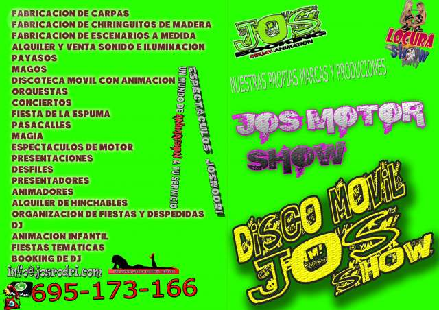 DJ ANIMADOR PAQRA FIESTAS DISCO MOVIL