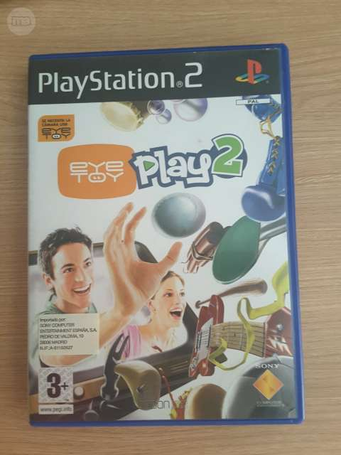 JUEGO PLAY STATION 2 EYE TOY