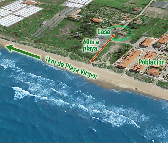 COSTA CULLERA CHALET EN LA PLAYA - foto 2
