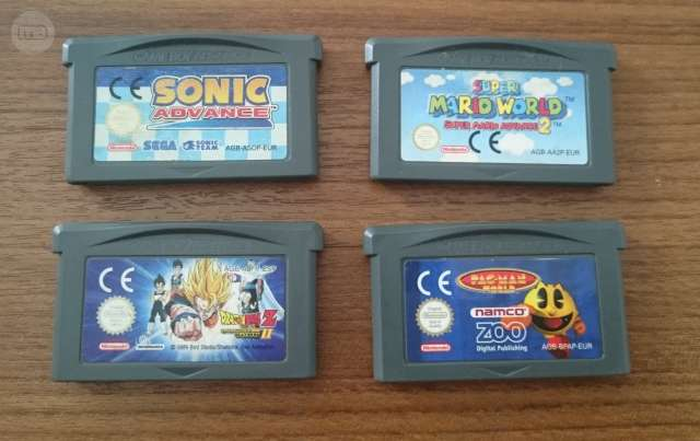 SONIC , MARIO WORLD, DRAGON BALL , PACMAN