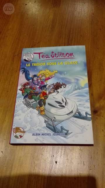 LIBRO EN FRANCÉS TEA STILTON