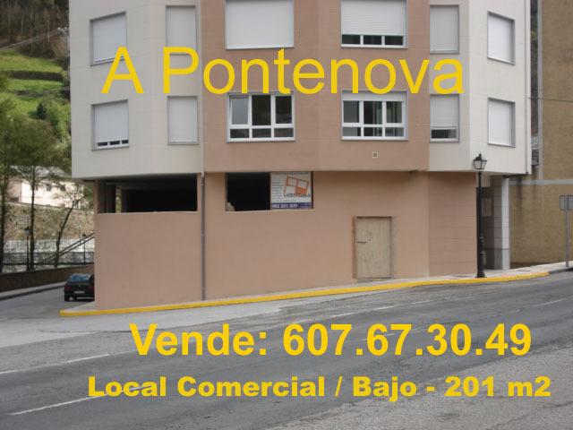 LOCAL COMERCIAL 201 M2 - A PONTENOVA - foto 1