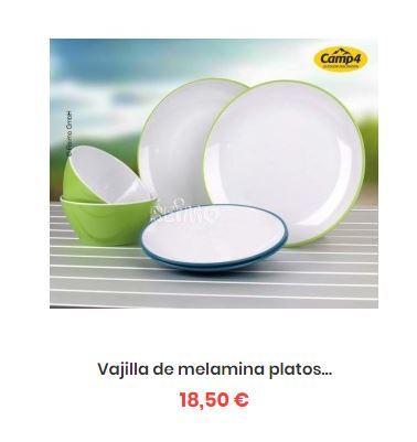 f73266f68da MIL ANUNCIOS.COM - Vajilla melamina blanca camping platos y
