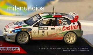 Toyota Corolla Wrc Rally Finlandia 1:43