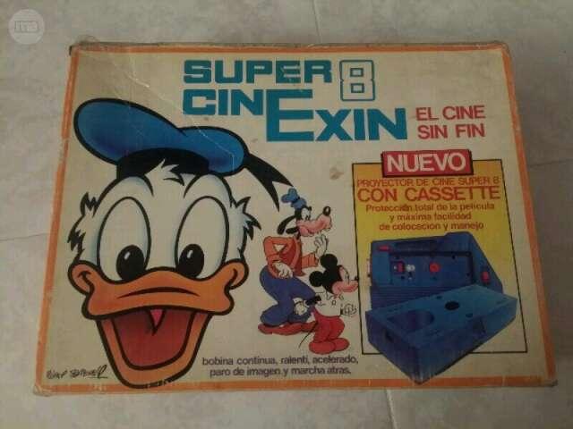 CINEXIN SUPER 8. CÁMARA PROYECTOR NIÑOS