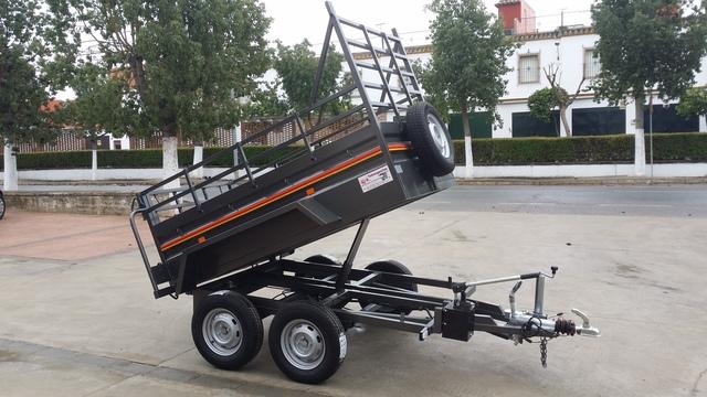 Rueda de remolque de 48 mm con brida capacidad de carga 400 kg