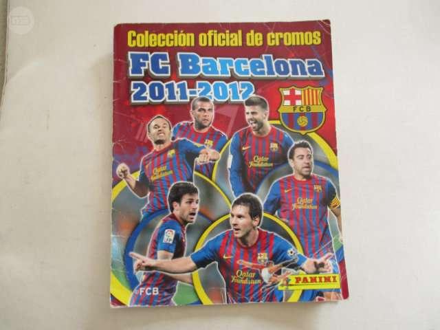 ALBUM CROMOS BARCELONA, 2011-2012COMPLETO