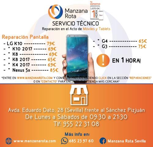 SERVICIO TÉCNICO SONY XPERIA Z Z1 Z2 Z3