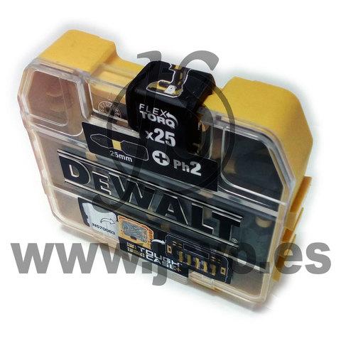 Set 25 Puntas Ph2 Dewalt Extreme Dt70555