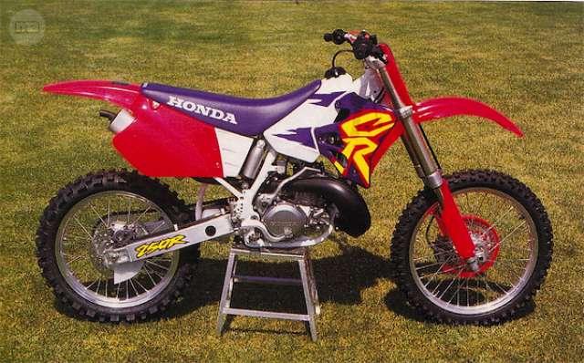 DESPIECE HONDA CR 250