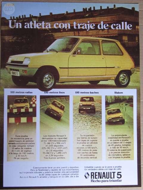 Renault 5 Turbo. Y Gt Turbo
