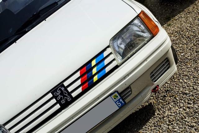 Desconocido Sudadera Peugeot 205 Rallye