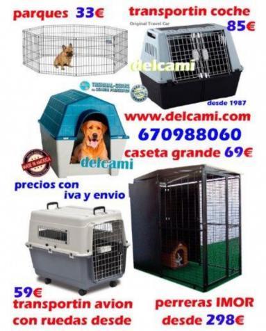 JAULA PARA LOROS 154X73X73 CON ENVIO 24H
