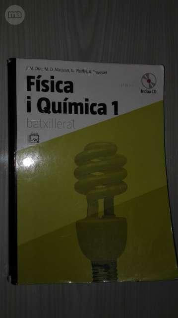 LIBRO 1 BACHILLERATO FÍSICA I QUÍMICA