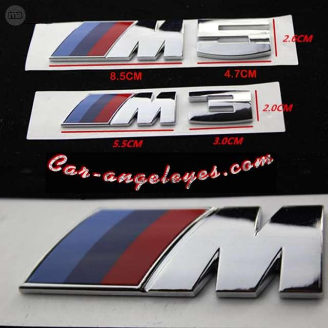 EMBLEMAS PARA BMW M5 Y M3