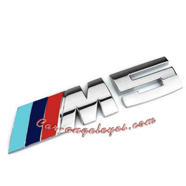 EMBLEMAS PARA BMW CON ACABADO M5