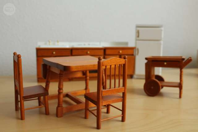 Muebles Para Casita De Muñecas