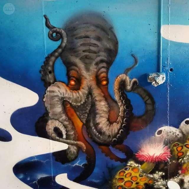 GRAFITI MURAL EN SALOU I CAMBRILS - foto 3