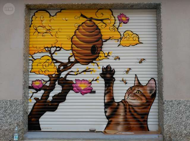 GRAFITI MURAL EN SALOU I CAMBRILS - foto 1