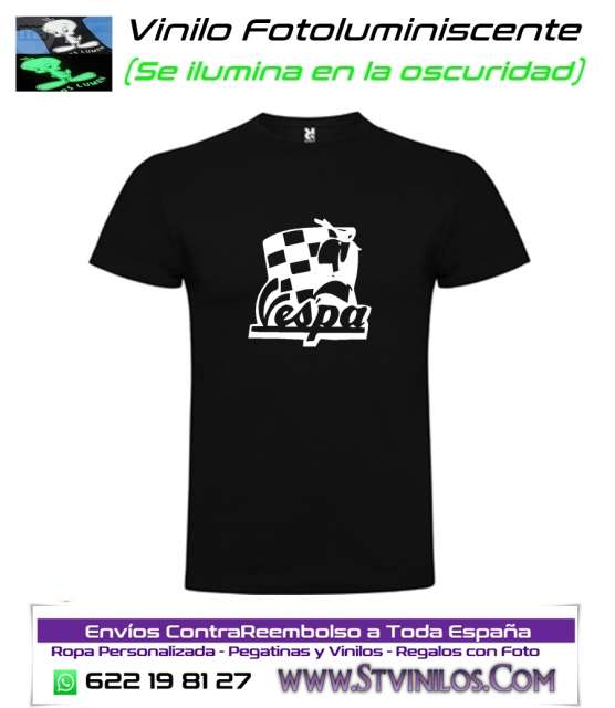CAMISETA LUMINISCENTE VESPA
