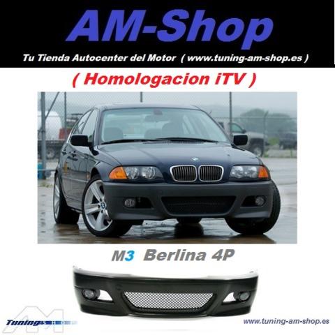 Parachoques Bmw E46 Look M3 Berlina 4p