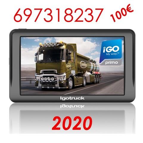 7 PULGADAS androide navegador turismos camiones autocaravanas Bluetooth WiFi Playstore FM