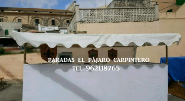 PARADAS MIXTAS, MADERA,  METALICAS. . .  - foto 1