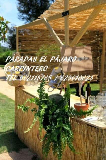 PARADAS MIXTAS, MADERA,  METALICAS. . .  - foto 4