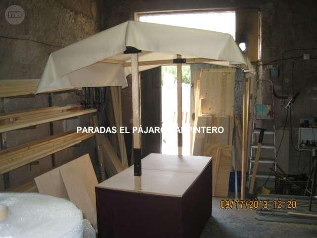 PARADAS MIXTAS, MADERA,  METALICAS. . .  - foto 3