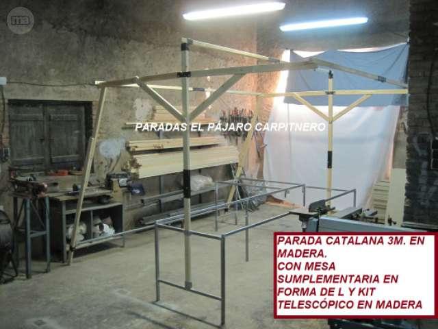 PARADAS MIXTAS, MADERA,  METALICAS. . .  - foto 6
