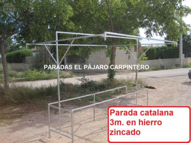 PARADAS MIXTAS, MADERA,  METALICAS. . .  - foto 9
