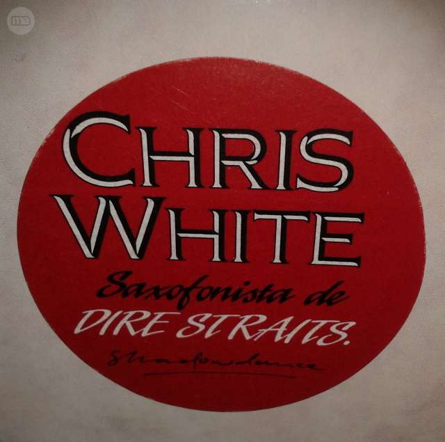 VINILO:  CHRIS WHITE_SAXO DIRE STRAITS - foto 3