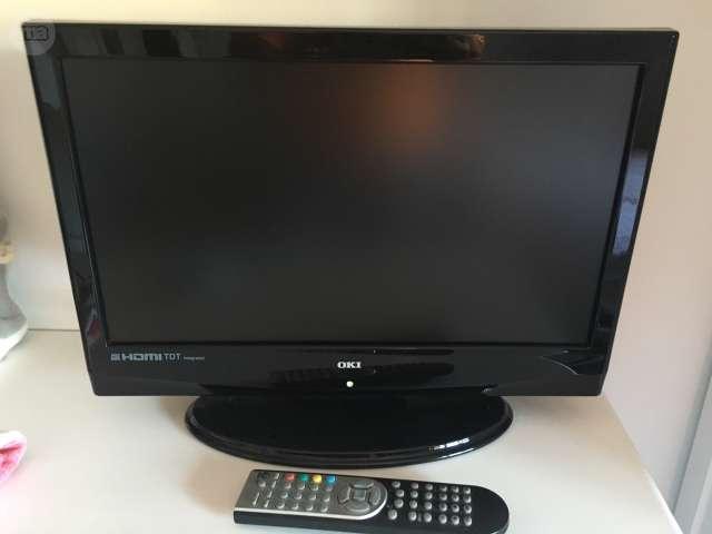 VENDO TV OKI 20 CON DVD Y USB GRABADOR