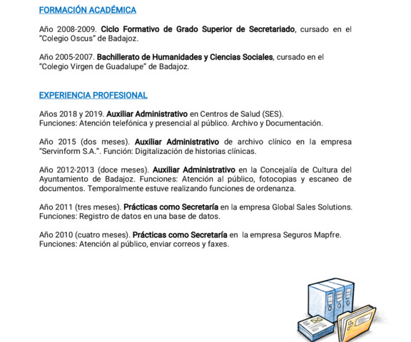 BUSCO TRABAJO DE AUXILIAR ADMINISTRATIVO - foto 1