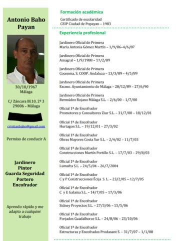 SOY ENCOFRADOR, PINTOR, ALBAÑIL, 666747334