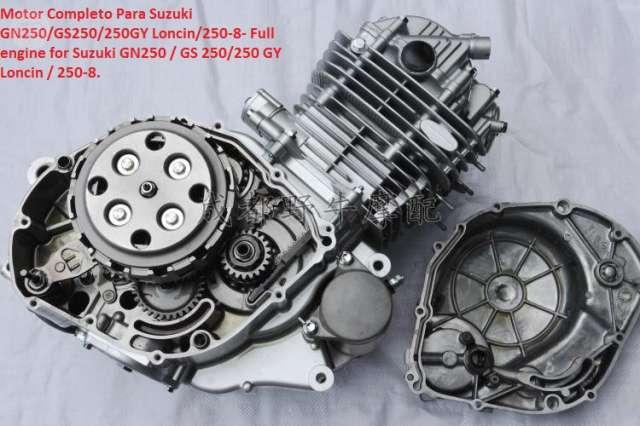 MOTOR COMPLETO PARA SUZUKI GN250 GS250 2