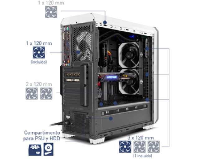 XTREME GAMER INTEL I7 NVIDIA GTX 1050 TI