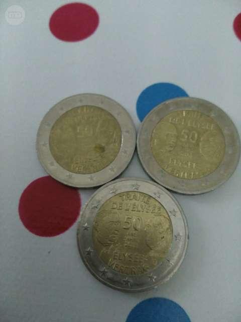 Monedas Tratado Eliseu