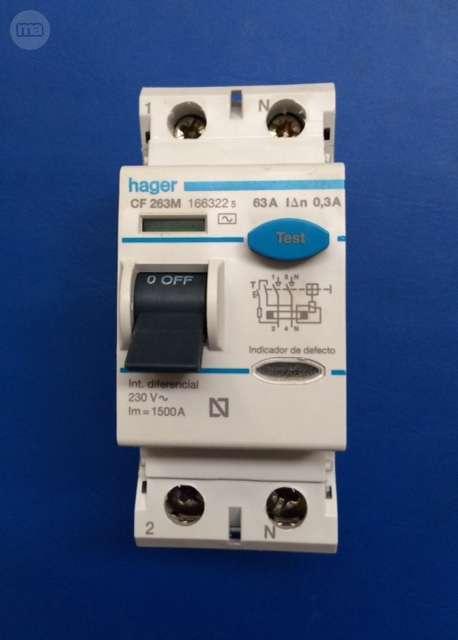 Interruptores  Diferencial Industrial