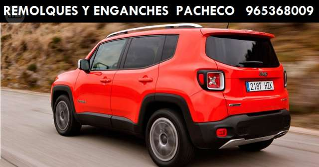 ENGANCHE JEEP RENEGADE 2014 . . .