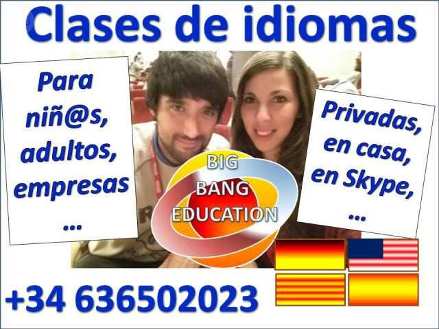 BIG BANG EDUCATION IDIOMAS: ALEMÁN. . .