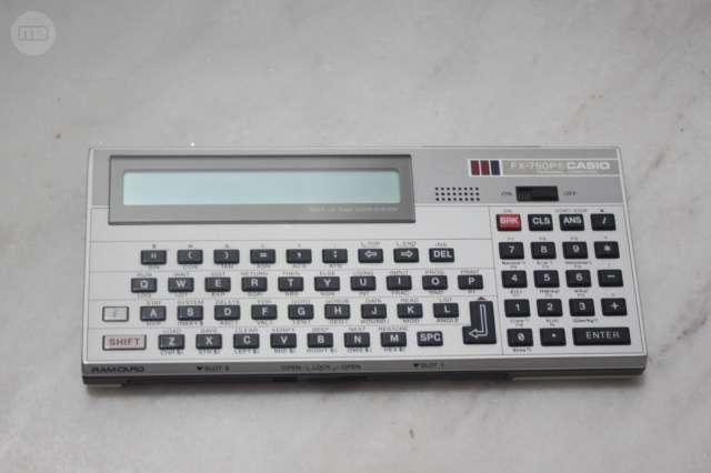 Calculadora Antigua Casio Fx-750P
