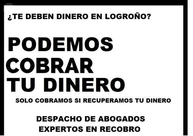 LOGROÑO COBRAMOS DEUDAS DIFICILES - foto 1