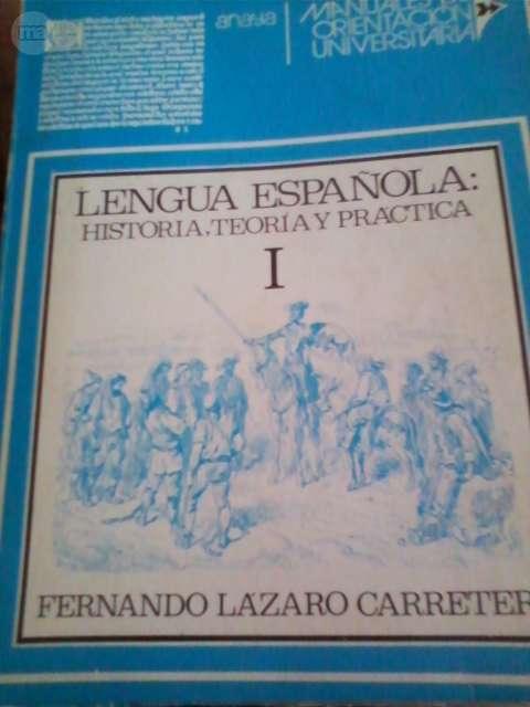 MANUAL DE LENGUA ESPAÑOLA 1976