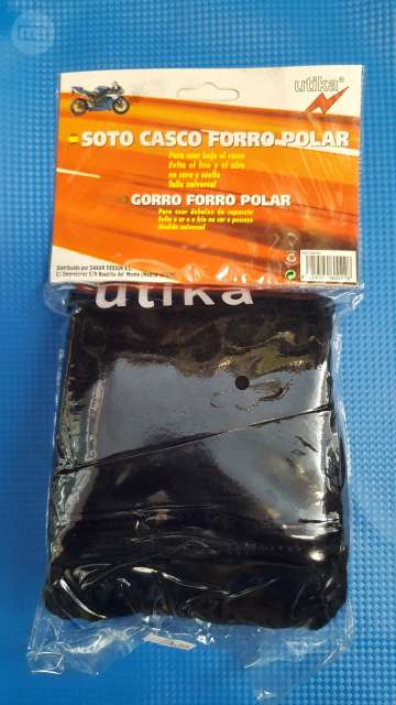 SOTO CASCO FORRO POLAR - foto 1