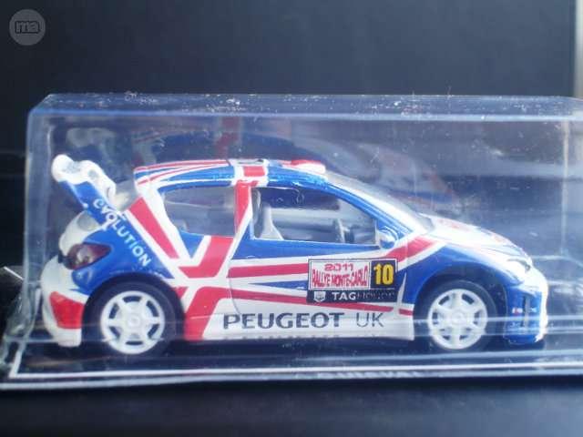 Coche A Escala 1:43 -Peugeot 206 British