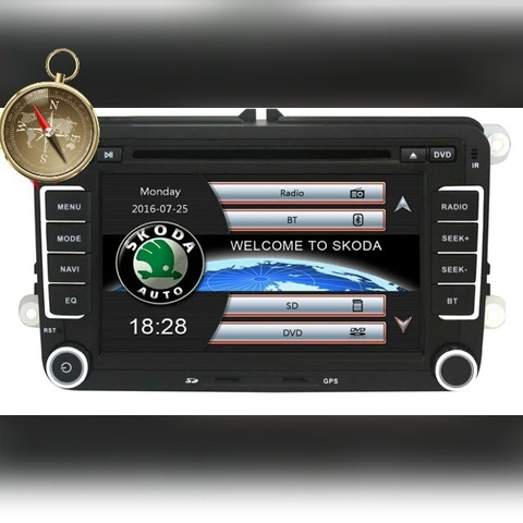 RADIO NAVEGADOR GPS (SKODA)